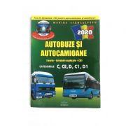 Autobuze si Autocamioane (teorie+intrebari explicate+CD) - Categoriile C, CE, D, C1, D1