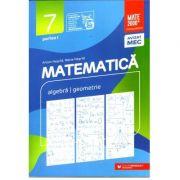 Matematica 2020 - 2021 Consolidare - Aritmetica - Algebra - Geometrie - Clasa A VII-A - Semestrul I - Avizat M. E. C.