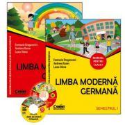 Limba moderna germana. Manual pentru clasa I (sem. I şi al II-lea)