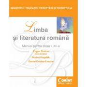 Limba şi literatura română / Simion - Manual pentru clasa a XII-a