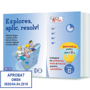 Carte activă, Explorez, aplic, rezolv! Culegere de probleme, teste şi resurse pentru portofoliu, Clasa a V-a, Partea a II-a