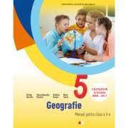 Geografie. Manual. Clasa a V-a Violeta Dascălu, Diana Alexandra Popovici, Ștefania Omrani, Maria Stoica