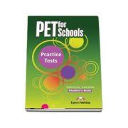 Curs de limba engleza - PET for Schools Practice Tests Students Book - Evans, Virginia