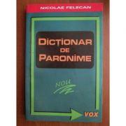 Dictionar de paronime Niculae Felecan
