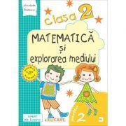 Matematică și explorarea mediului. Clasa a II-a. Partea II - (E1) Caiet de lucru. Exerciţii, probleme, probe de evaluare. Varianta - EDP (Pițilă, Mihăilescu)