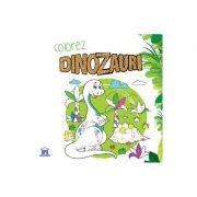 Colorez cu dinozauri - carte de colorat
