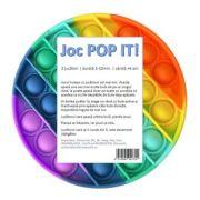 Pop It - disc multicolor, 13 cm